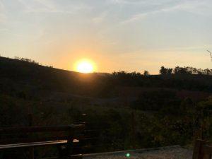 Terra das Cachoeiras - Por do Sol
